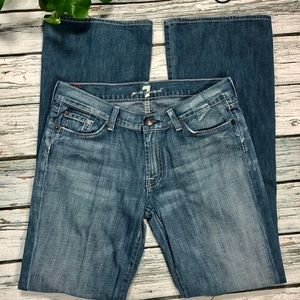 7 for All Mankind bootcut Jeans Sz 31